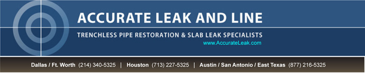 trenchless pipe restoration & slab leak specialists