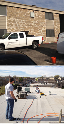 Trenchless Drain Rehab Restores Apartment Drain lines in Houston