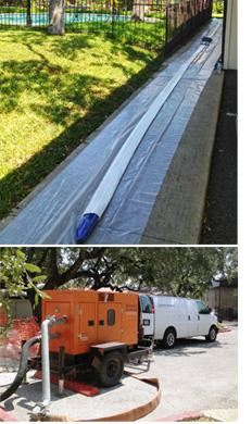 Trenchless Sewer Repair at San Antonio Condominium