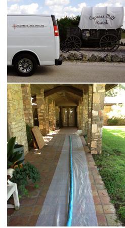 Austin, TX Sub Slab Sewer System