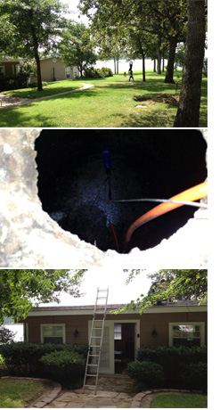 Major Excavation avoided at beautiful Cedar Creek Lake, TX