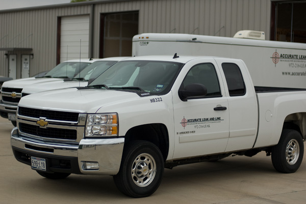 accurate leak and line commercial trucks