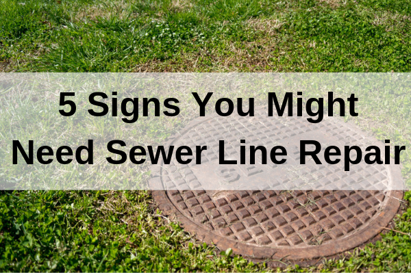 Signs you might need sewer repair