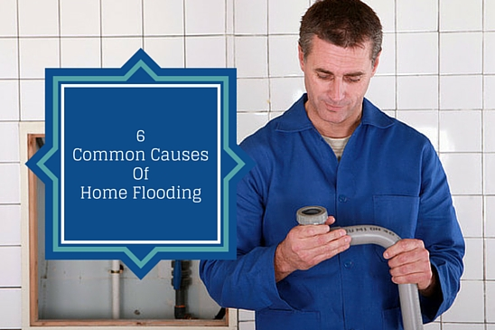 6 common causes of home flooding