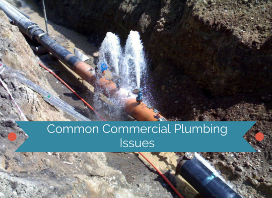 Common Commercial Plumbing Issues