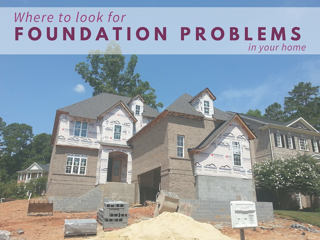 foundation problems in your home