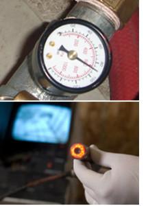 hydrostatic plumbing testing
