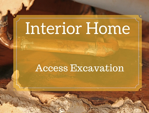 interior home access excavation