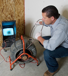residential plumbing inspection in DFW