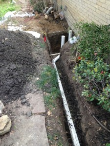 residential sewer pipe lines