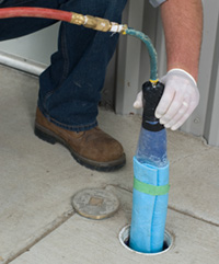 trenchless pipe line repair