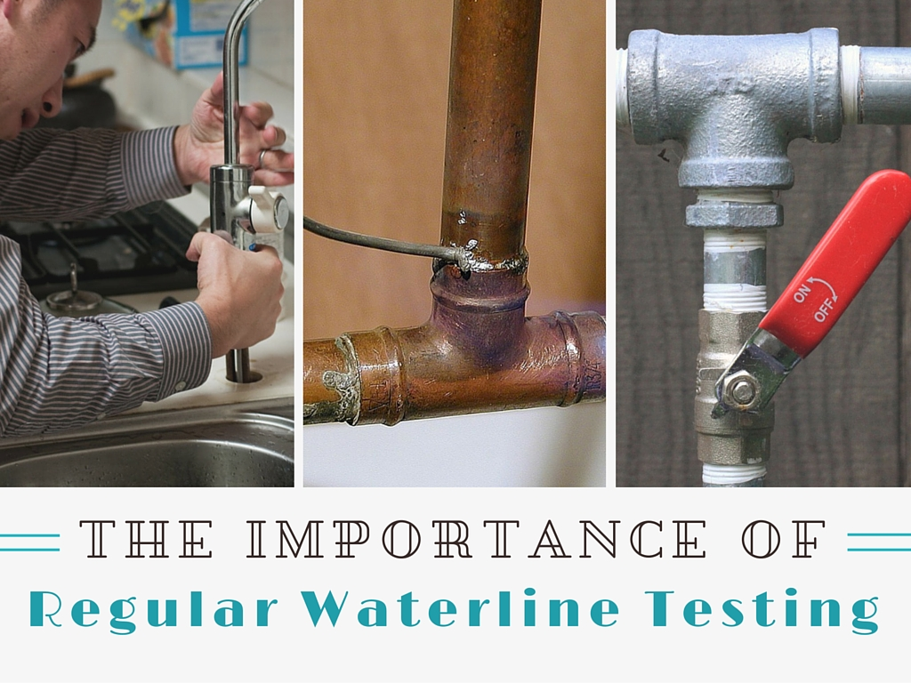 importance of water line testing